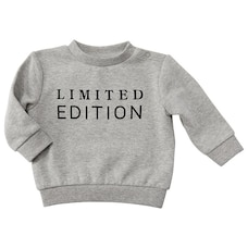 IndigoBaby Crew Neck Sweater - Limited Edition - Size 3 - 6 Months