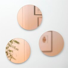 UMBRA BLUSH MIRRORS – SET OF 3