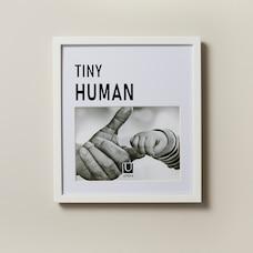 "UMBRA SENTIMENT FRAME - TINY HUMAN, 5""X7"""