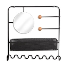 UMBRA ESTIQUE WALL ORGANISER BLACK