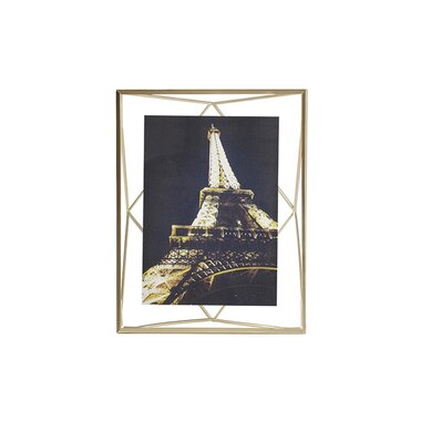 Umbra Prisma 5x7 Frame Brass By Umbra Desk Frames Gifts