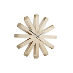 Umbra® Ribbon Wall Clock - Wood