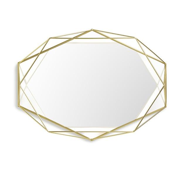 Umbra Miroir Prisma – Laiton mat
