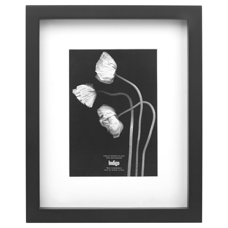 "Gallery Frame Black - 5"" x 7"" Opening"