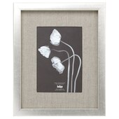 "Gallery Frame Silver Foil - 5"" x 7"" Opening"
