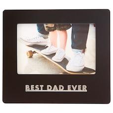 Cadre Best Dad Ever – 4 x 6 po
