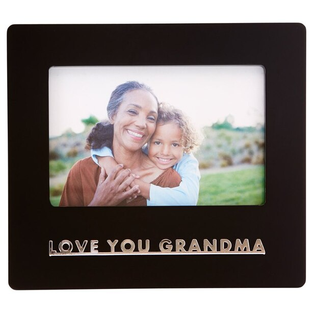 """EXPRESSIONS PICTURE FRAME LOVE YOU GRANDMA 4"""" X 6"""""""