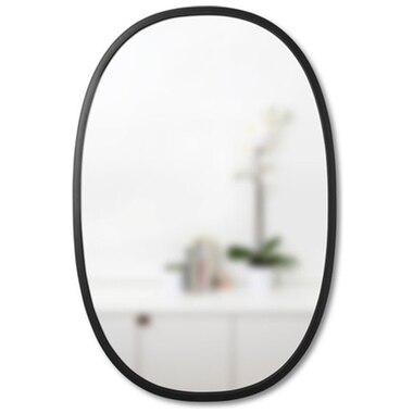Hub Mirror Oval - Black