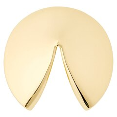 Get Lucky Fortune Cookie – Brass