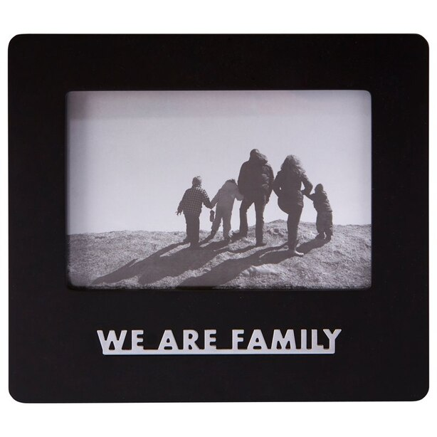 """Expressions We Are Family Frame – 4"""" x 6"""""""