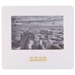 """Expressions XOXO Frame – White, 4"""" x 6"""""""