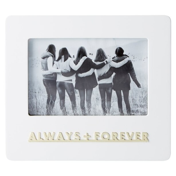 "EXPRESSIONS PICTURE FRAME ALWAYS AND FOREVER 4"" X 6"""