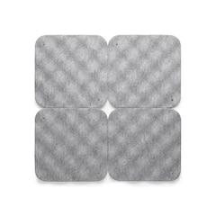 Hush Acoustic Wall Tile - Set of 4