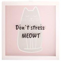 Motto Frame – Don't Stress Meowt
