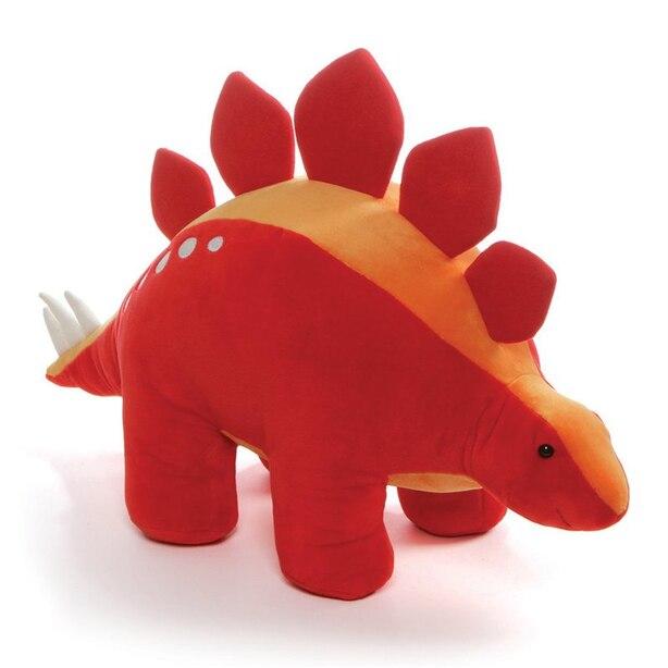 "GUND Tailspin Stegosaurus Stuffed Plush Dinosaur, 18"""