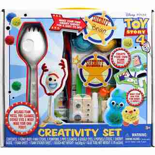Toy Story Forky Toy and Characters Creativity Set