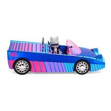 Voiture LOL Surprise Dance Machine avec poupée exclusive, piscine surprise et piste de danse, lampe…