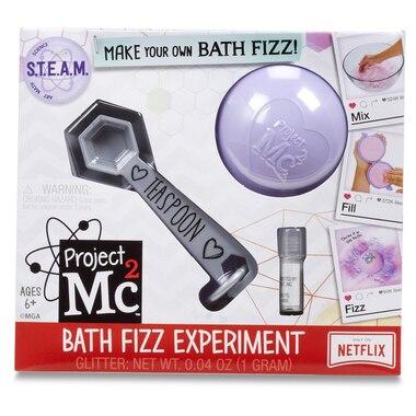 Project Mc2 Bath Fizz Experiment- Purple