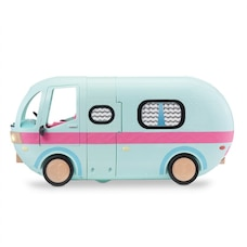 L.O.L. Surprise! 2-in-1 Glamper Fashion Camper with 55+ Surprises including Exclusive Doll