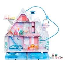 L.O.L. Surprise! Winter Disco Chalet Doll House with 95+ Surprises