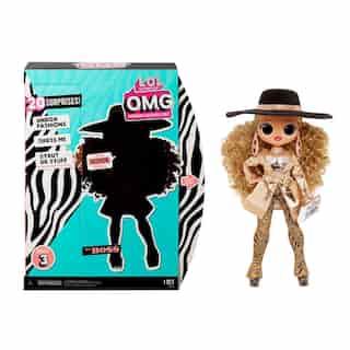 L.O.L. Surprise! O.M.G. Da Boss Fashion Doll with 20 Surprises