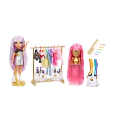 Rainbow High Fashion Studio – Exclusive Doll with Rainbow of Fashions (clothes and accessories) and…