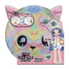 Rainbow Kitty Na! Na! Na! Surprise Ultimate Surprise avec nouvelle poupée plus grande et 100+…