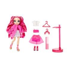 Rainbow High Stella Monroe – Poupée-mannequin fuchsia (rose vif) avec 2 tenues complètes à agencer…