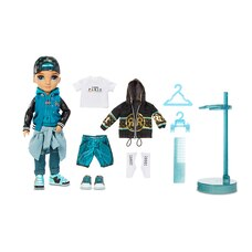Rainbow High River Kendall – Teal Boy Fashion Doll with 2 Complete Mix & Match Outfits