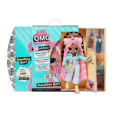 OMG Sunshine Gurl Fashion Doll - Dress Up Doll Set with 20 Surprises