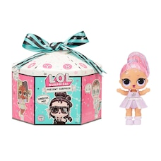 L.O.L. Surprise! Present Surprise Series 2 Glitter Shimmer Star Sign Themed Doll with 8 Surprises