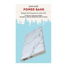 SLIM POWER BANK MARBLE