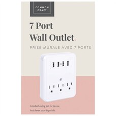 Common Craft 7 Port Wall Outlet