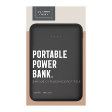 Common Craft Portable Power Bank 4000mAh Black
