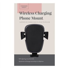 Common Craft Wireless Charging Phone Mount Black