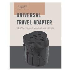 Common Craft Universal Travel Adapter Black