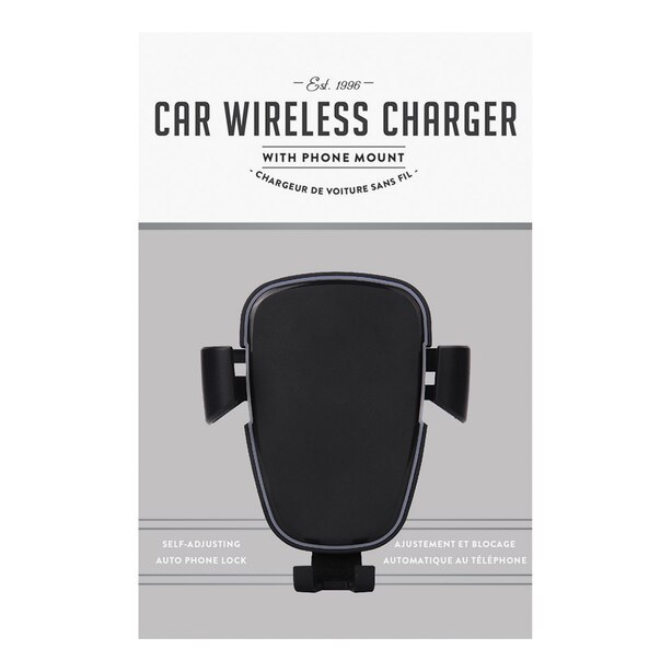 WIRELESS CHARGING GRAVITY CAR MOUNT