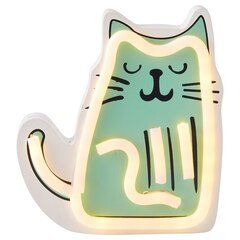 Lampe au néon — Chat