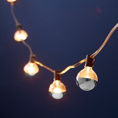 Chrome Dipped String Lights – Set of 10