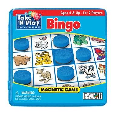 Bingo Take 'N' Play Magnetic Game