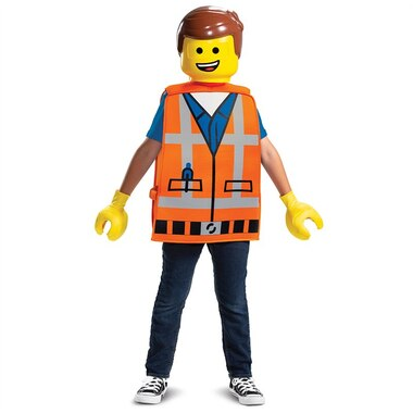 Disguise® Costume Emmet Deluxe Medium Size 7-8