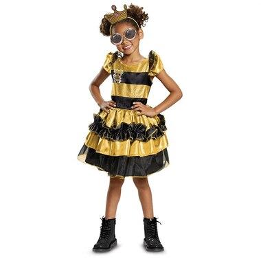 Disguise Costumes LOL SURPRISE QUEEN BEE DELUXE (7-8)
