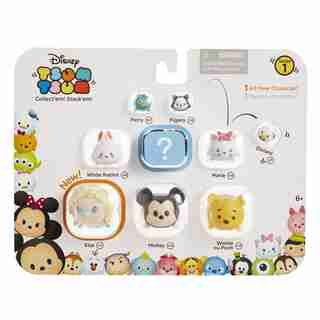 Tsum Tsum 9 Pack (Elsa Mickey Perry White Rabbit Figaro Marie Winnie the Pooh Donald and Secret Character)
