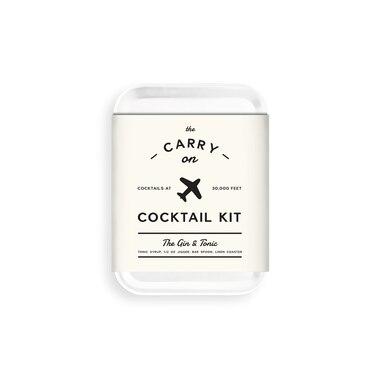 trousse de cocktail pour bagage de cabine gin tonic de w. Black Bedroom Furniture Sets. Home Design Ideas