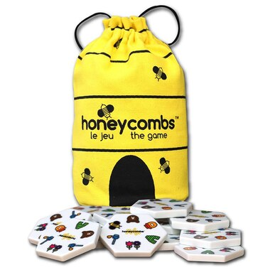 Honeycombs Bee-themed Tile Connection Game