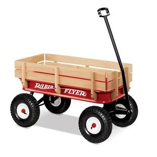 All-Terrain Steel & Wood Wagon