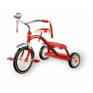 Classic Red Dual Deck Tricycle #33