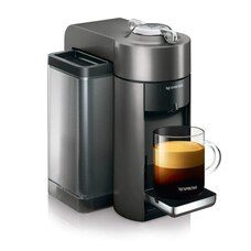 Nespresso Vertuo Coffee and Espresso Machine by De'Longhi - Graphite Metal