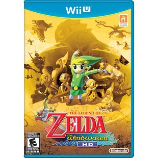 The Legend of Zelda Wind Waker HD Wii U