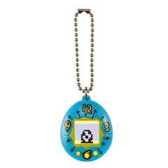 Tamagotchi - Blue with Yellow